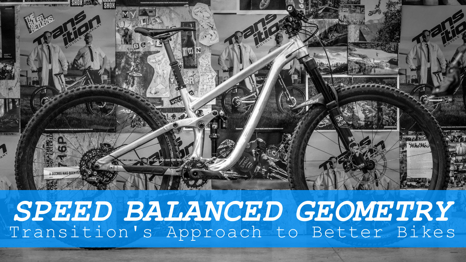 Speed Balanced Geometry: Transition's Approach To Creating Better Mountain Bikes