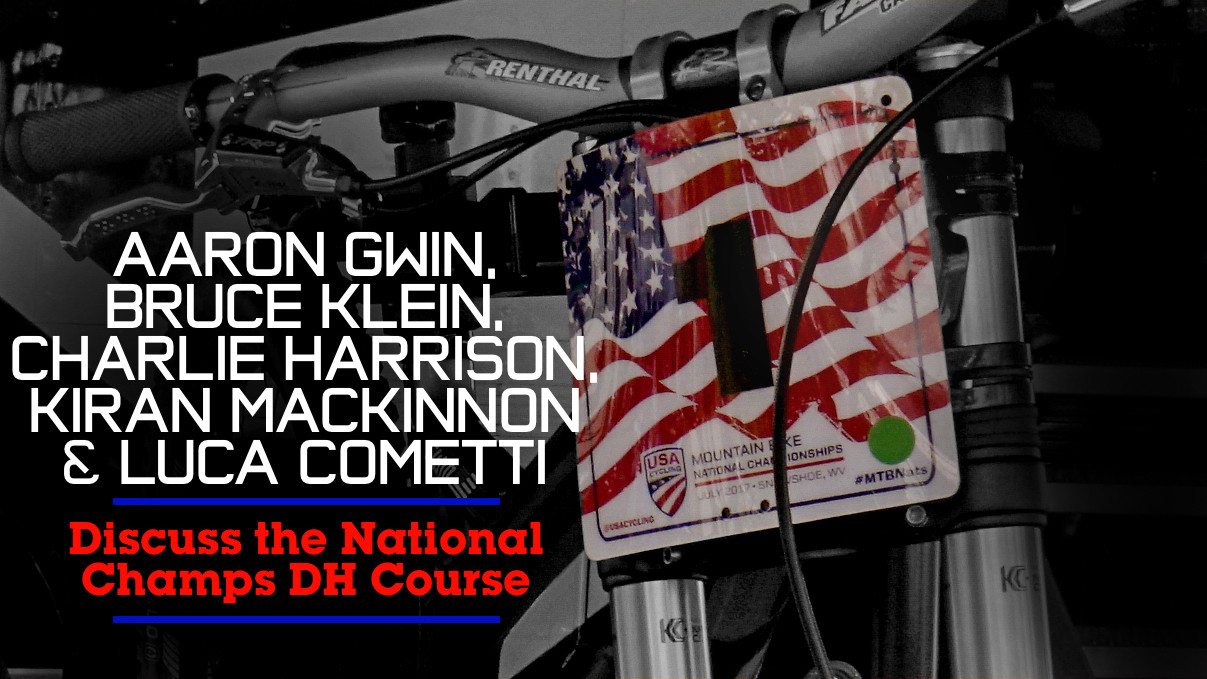 #USDH Heavyweights Discuss the National Champs DH Course