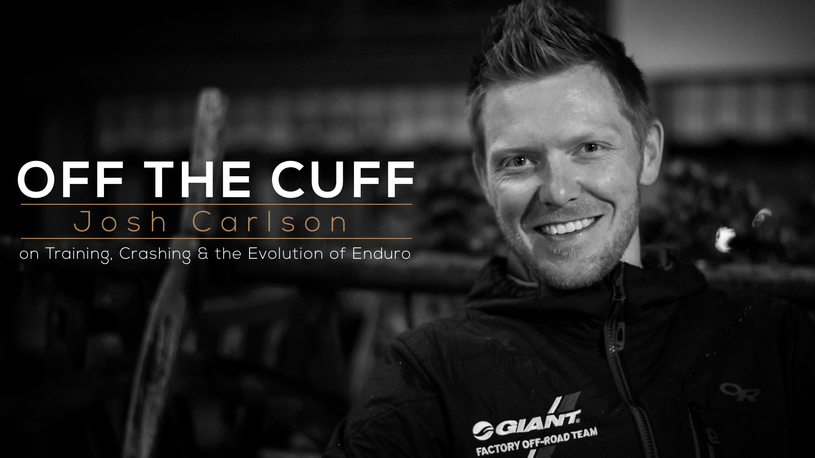 Off The Cuff: Josh Carlson on Training, Crashing, and the Evolution of Enduro