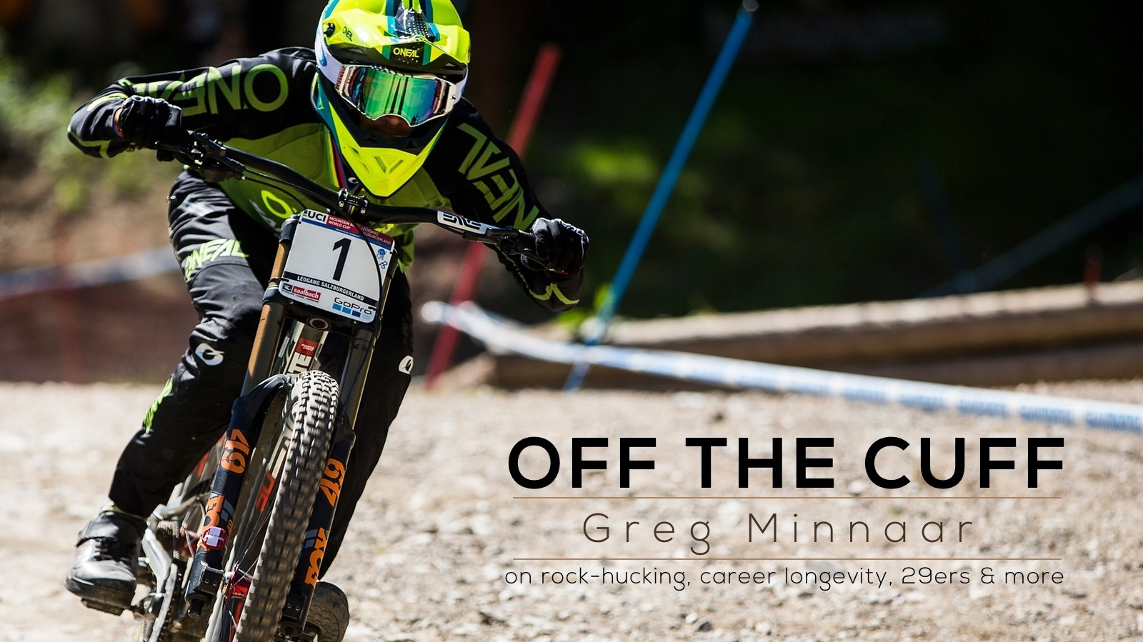 Off the Cuff - Greg Minnaar