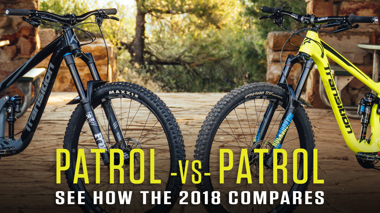 Transition Patrol vs. Patrol - See How the 2018 Compares