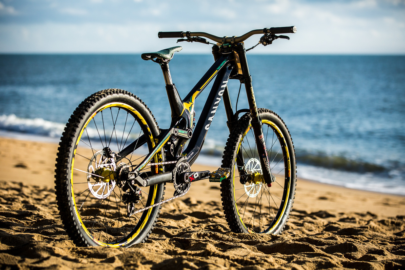 Canyon World Champs Bikes for Troy Brosnan & Mark Wallace
