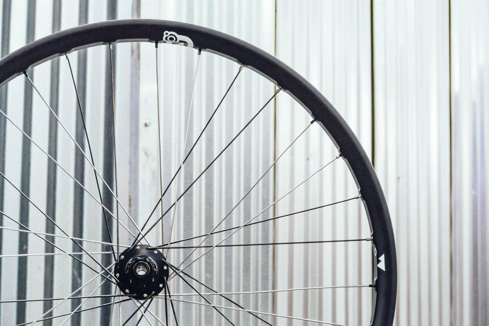 Unique Spoke Lacing in These Custom Handbuilt Carbon Wheels from Colorado