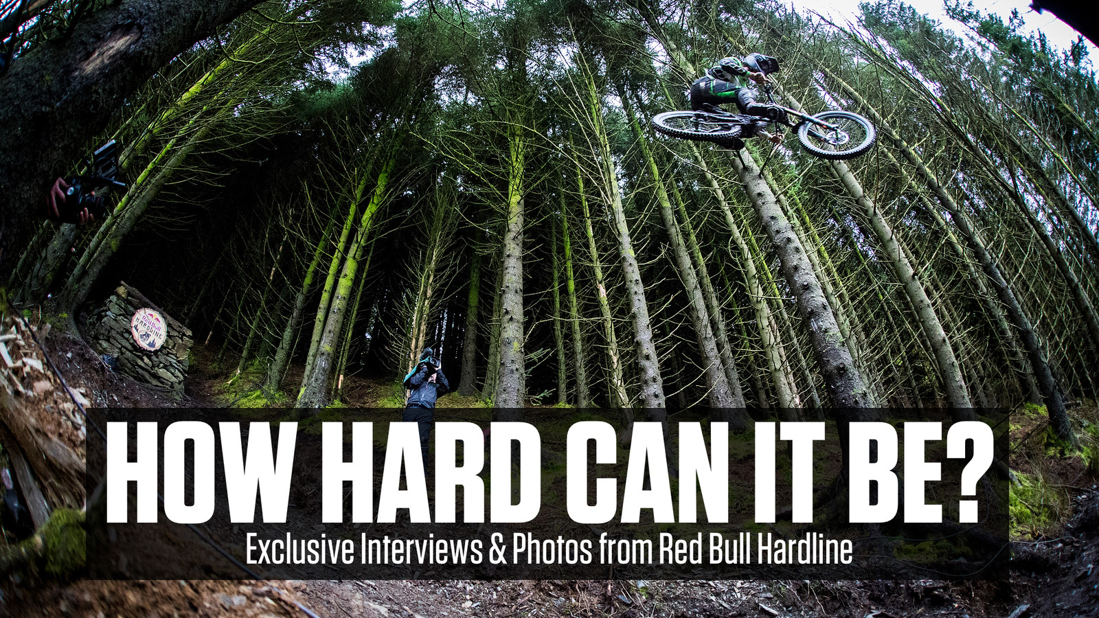 How Hard Can It Really Be? Red Bull Hardline Photos and Interviews