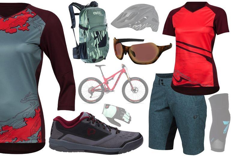 Eight Head-to-Toe Looks for Mountain Biking Ladies