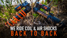We Ride Coil and Air Shocks Back-to-Back