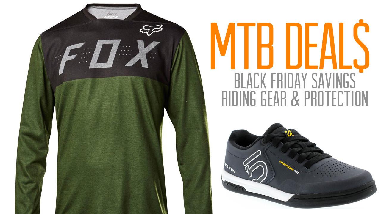 Black Friday Mountain Bike Riding Gear Bargains