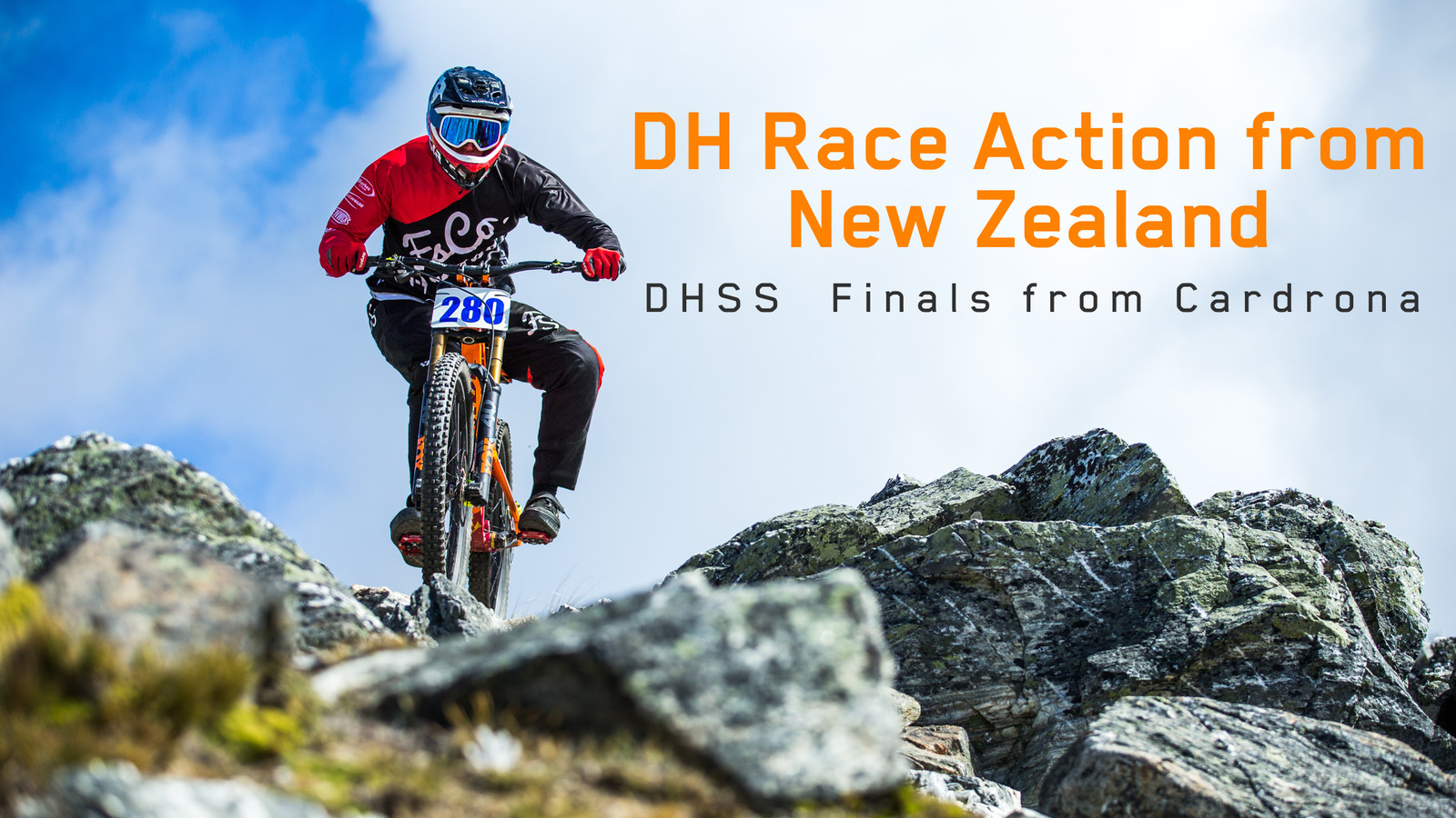 New Zealand DH Action - DHSS Final Round at Cardrona