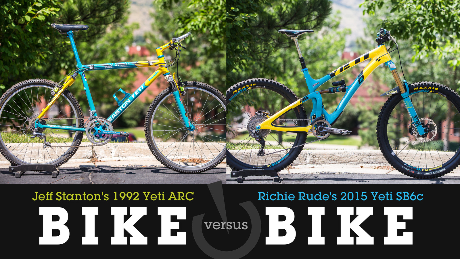 Bike vs. Bike - 1992 Yeti ARC vs. 2015 Yeti SB6c
