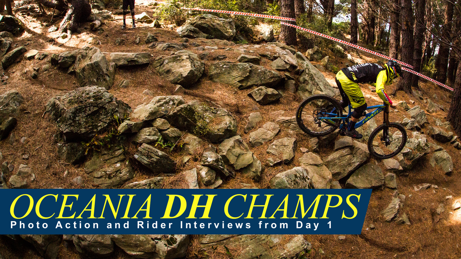 Oceania DH Champs - Photos and Rider Interviews from Day 1