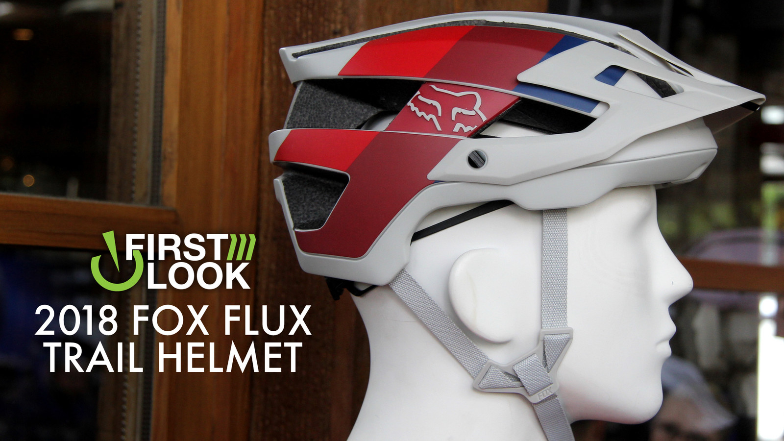 First Look: 2018 Fox Flux Trail Helmet