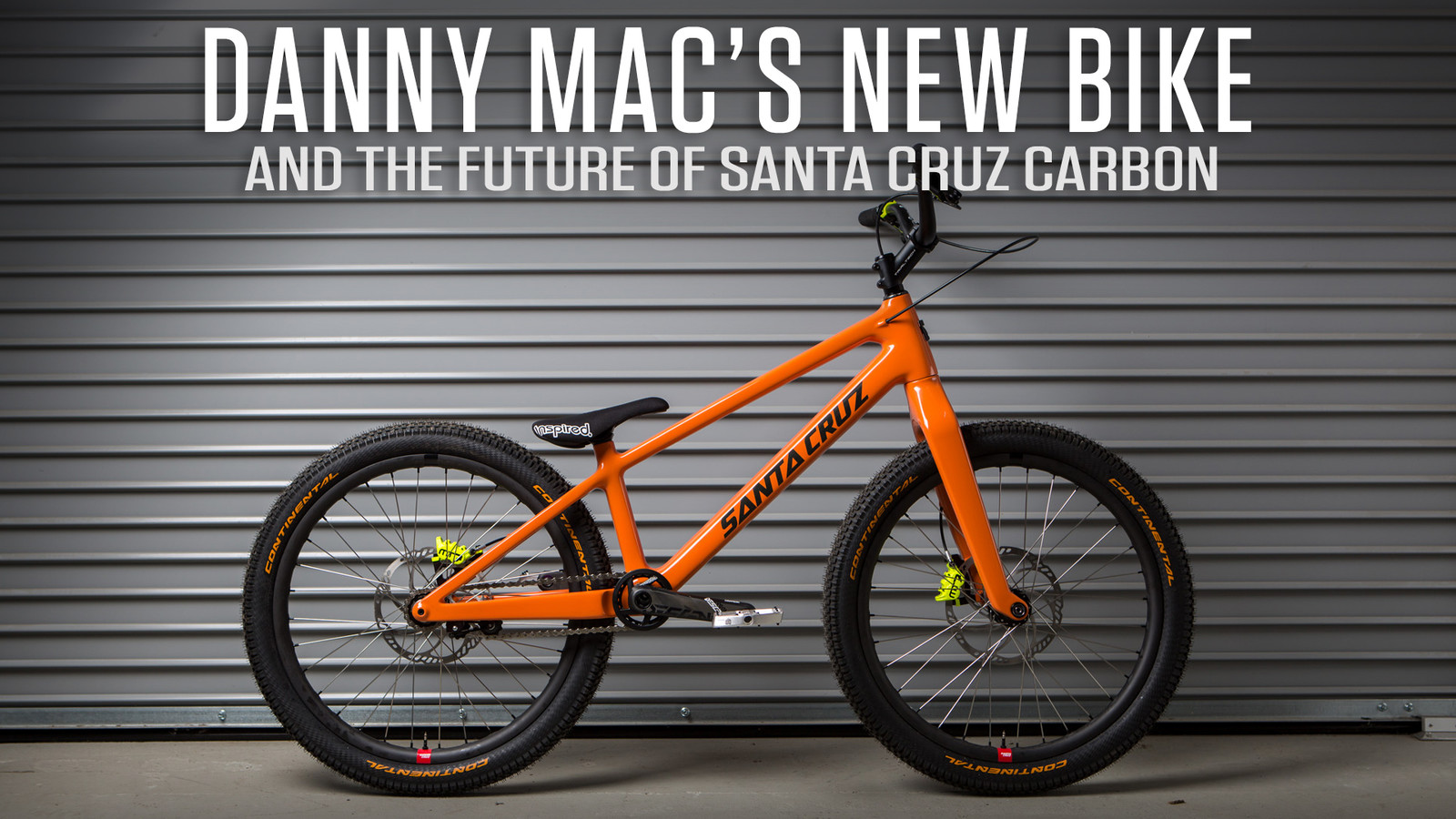 Danny MacAskill's Custom Trials Bike Represents the Future of Carbon for Santa Cruz
