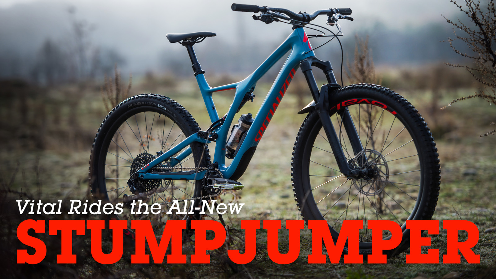 Vital Rides the All-New 2018 Specialized Stumpjumper - Mountain