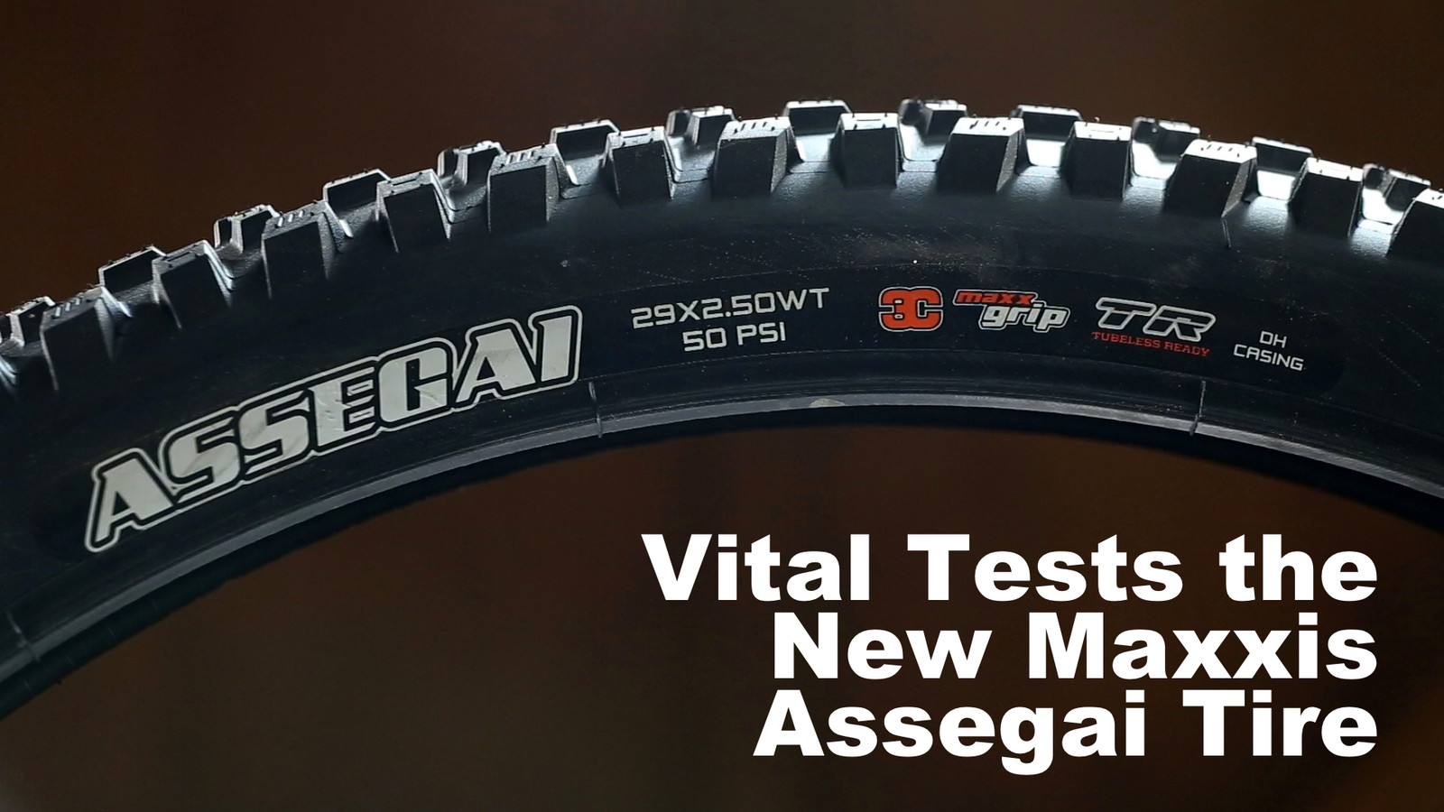 Vital Tests Greg Minnaar's Maxxis Tire - The Assegai