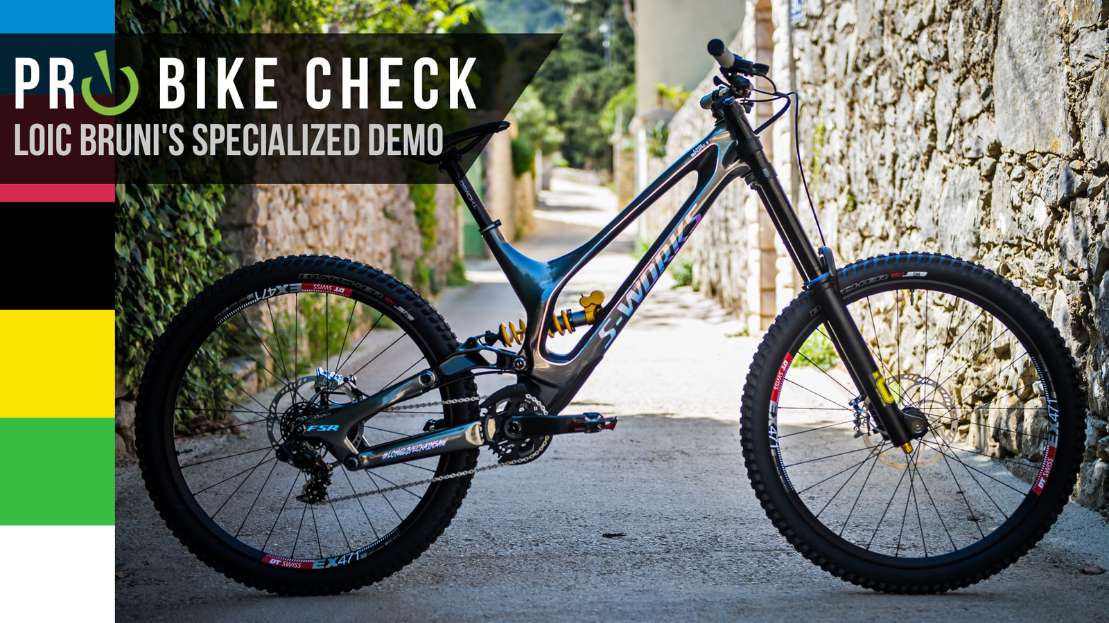 Pro Bike Check: Loic Bruni's Specialized Demo