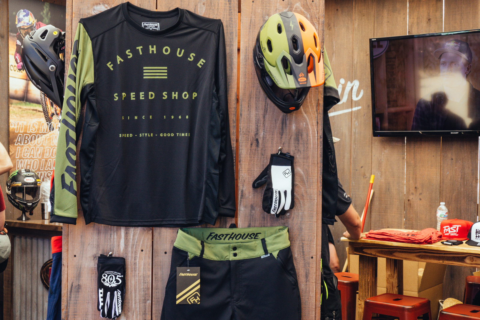 Fasthouse Mountain Bike Goods Unleashed, Including Collab Bell Helmets - Sea Otter Classic
