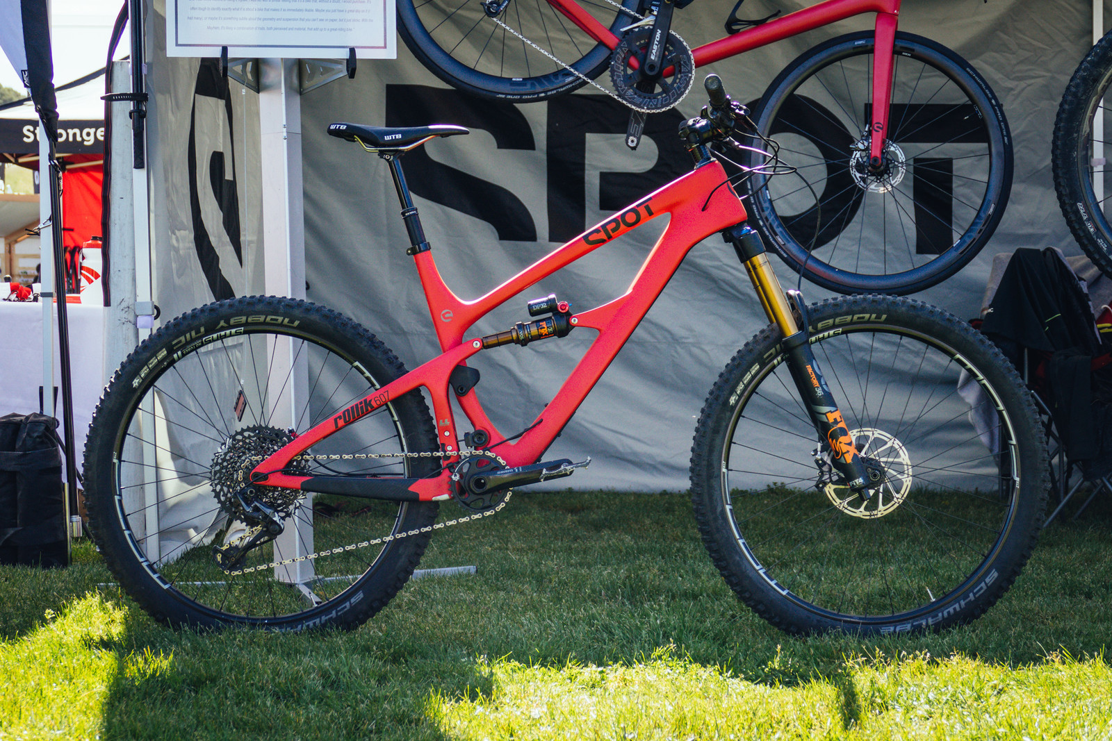 Spot Brand's New Rollik 607 Has a Very Unique Suspension Design - Sea Otter Classic