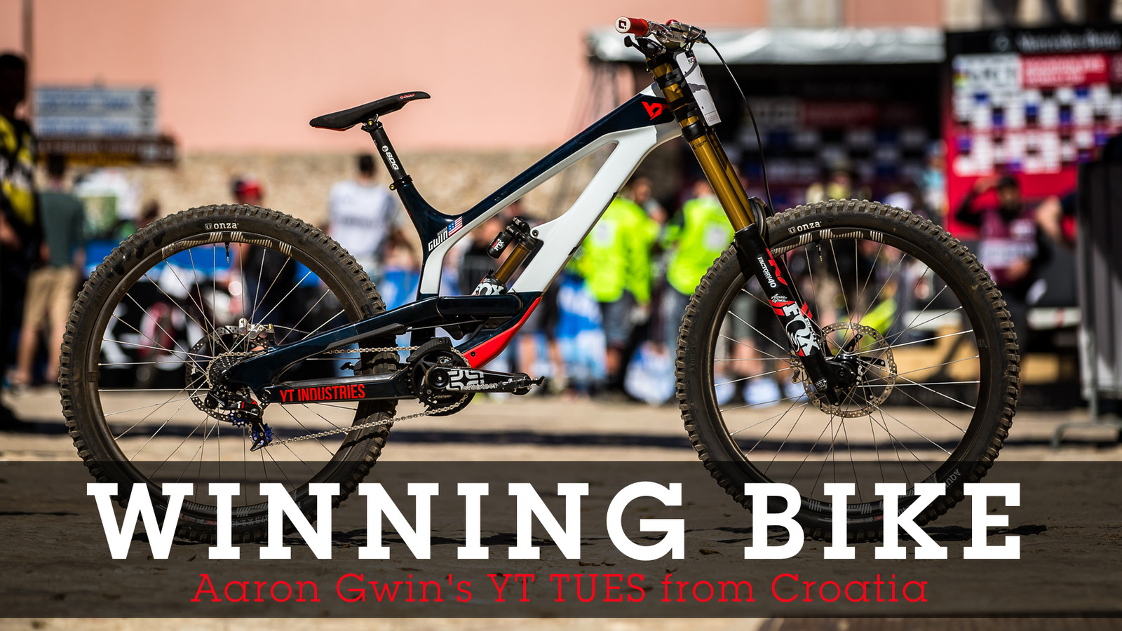 WINNING BIKE: Aaron Gwin's YT TUES from Croatia