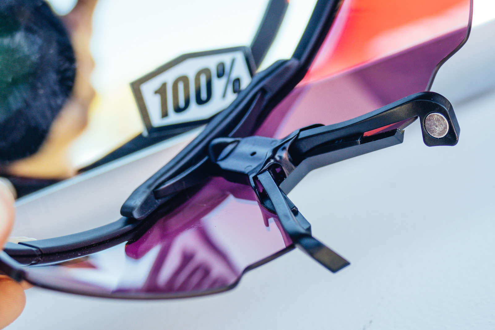 These 100% Sunglasses Use Magnets to Help You Breathe Easier - Sea Otter Classic