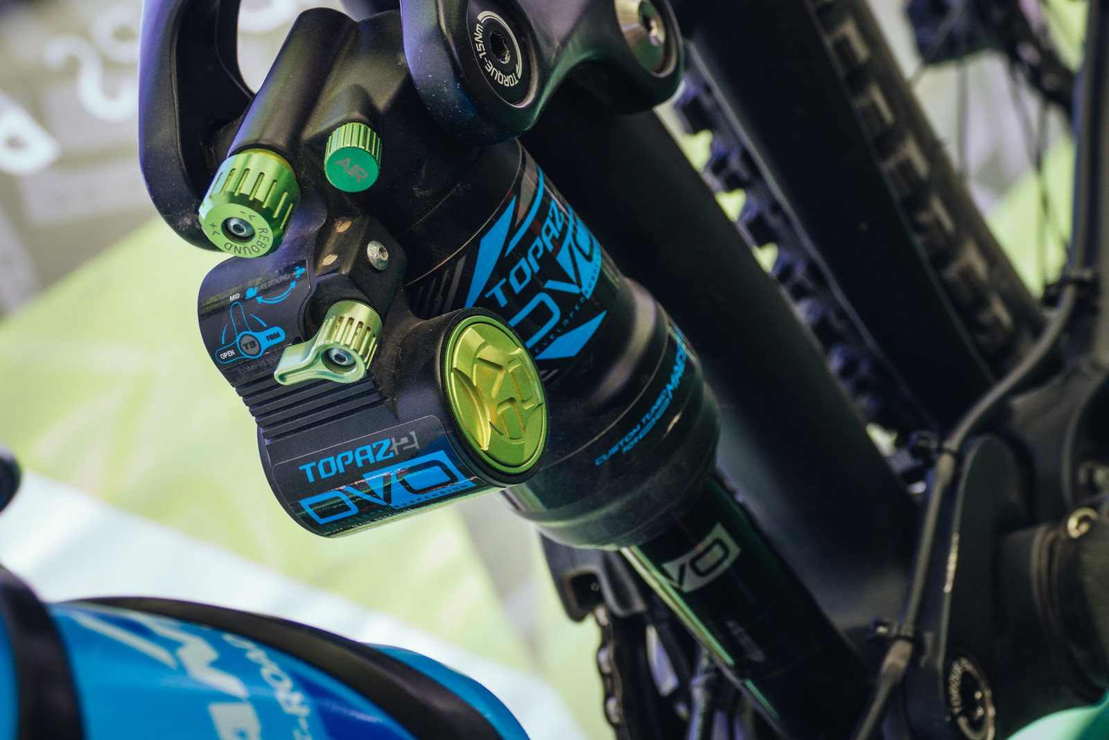 DVO Dials in the New Topaz 2 Rear Shock and Onyx Single Crown Fork - Sea Otter Classic
