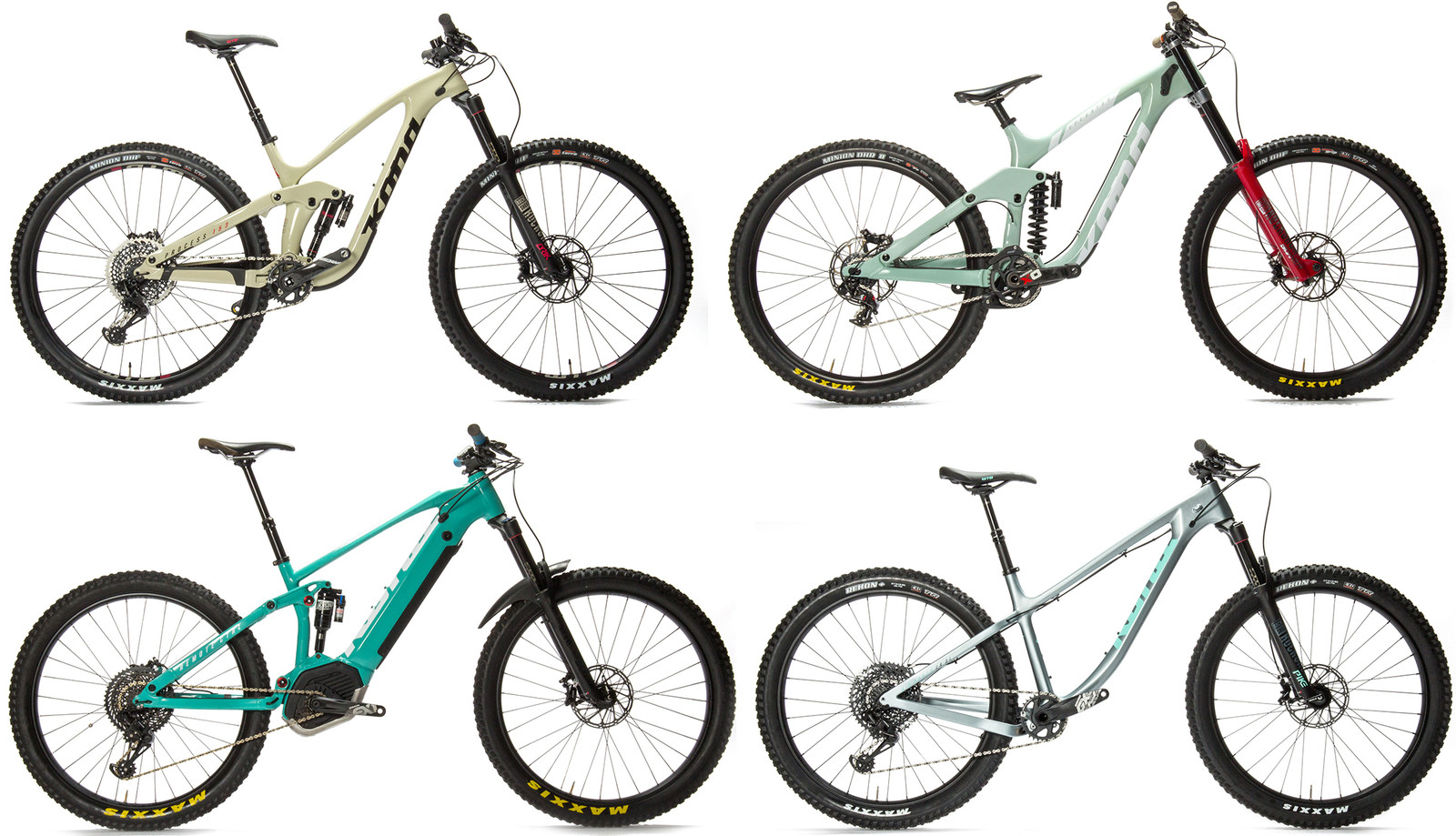 Kona Introduces Five Fun New Bikes - Sea Otter Classic - Mountain ...