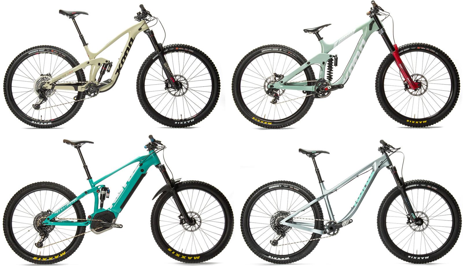 Kona Introduces Five Fun New Bikes - Sea Otter Classic