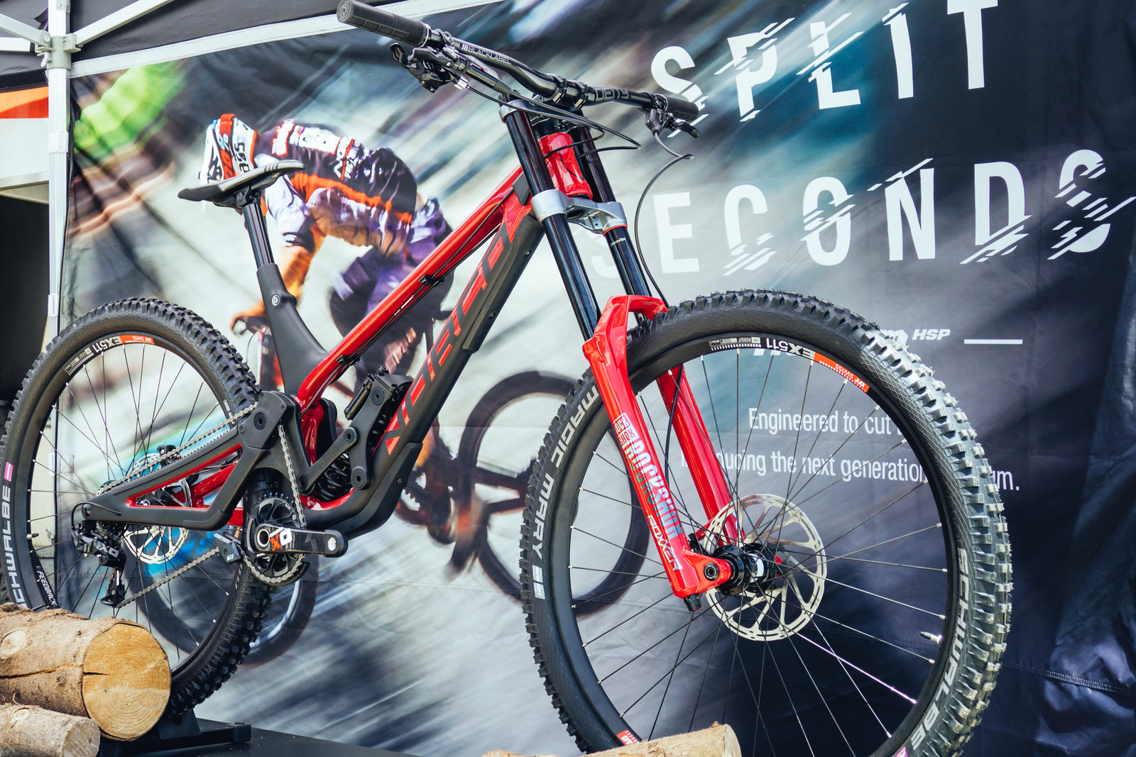 Norco Officially Releases the Aurum HSP Downhill Bike - Sea Otter Classic