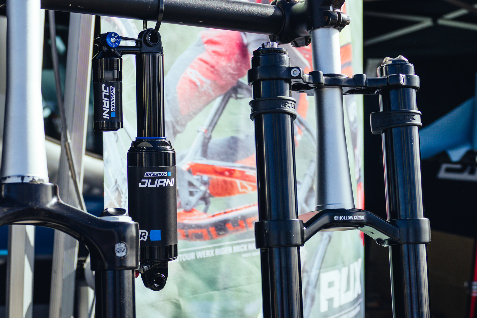 New Forks and Shocks from SR Suntour - Sea Otter Classic