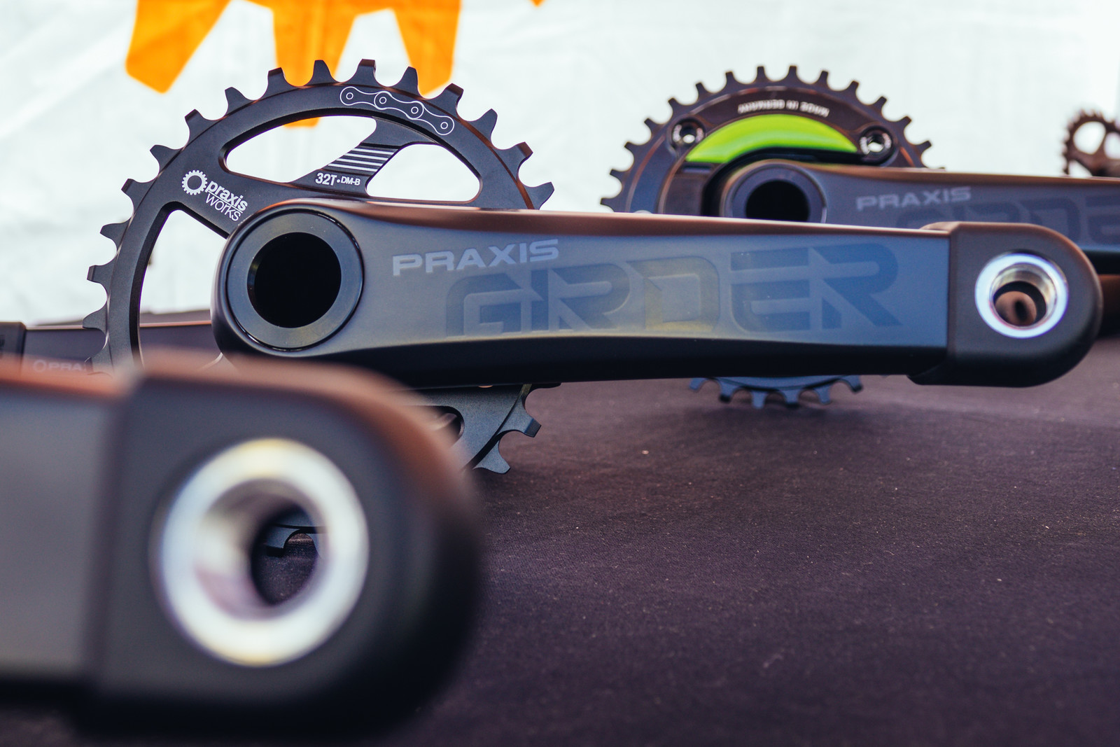 Maximize Bang for Your Buck with the New Praxis Girder Carbon Cranks - Sea Otter Classic