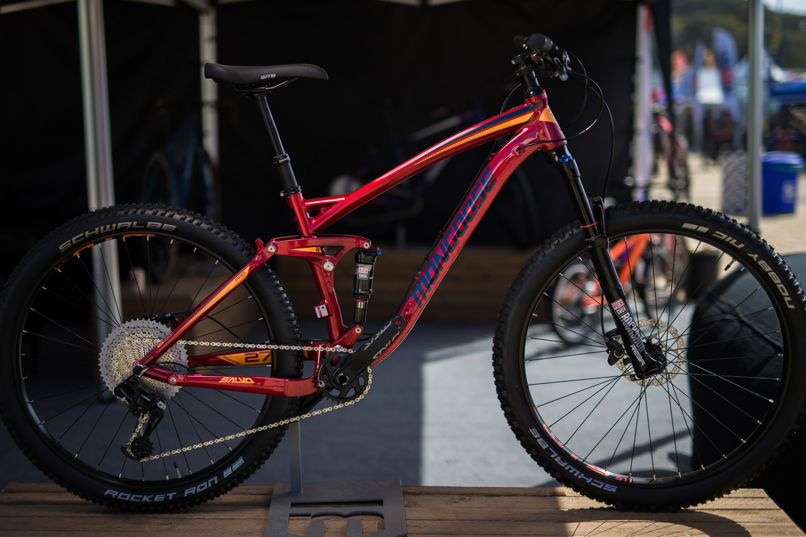 Mongoose Revamps the Salvo with Updated Suspension Design - Sea Otter Classic