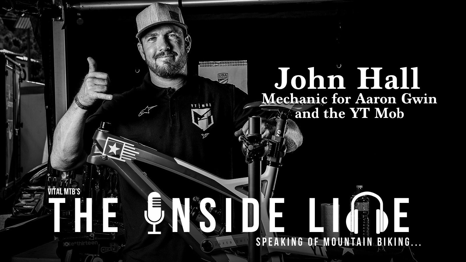 The Inside Line Podcast - John Hall, Aaron Gwin's Mechanic