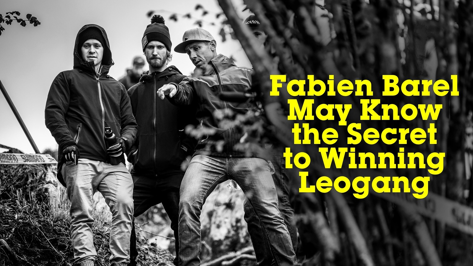 Fabien Barel May Know the Secret to Winning Leogang