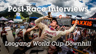 Leogang World Cup DH Post-Race Interviews