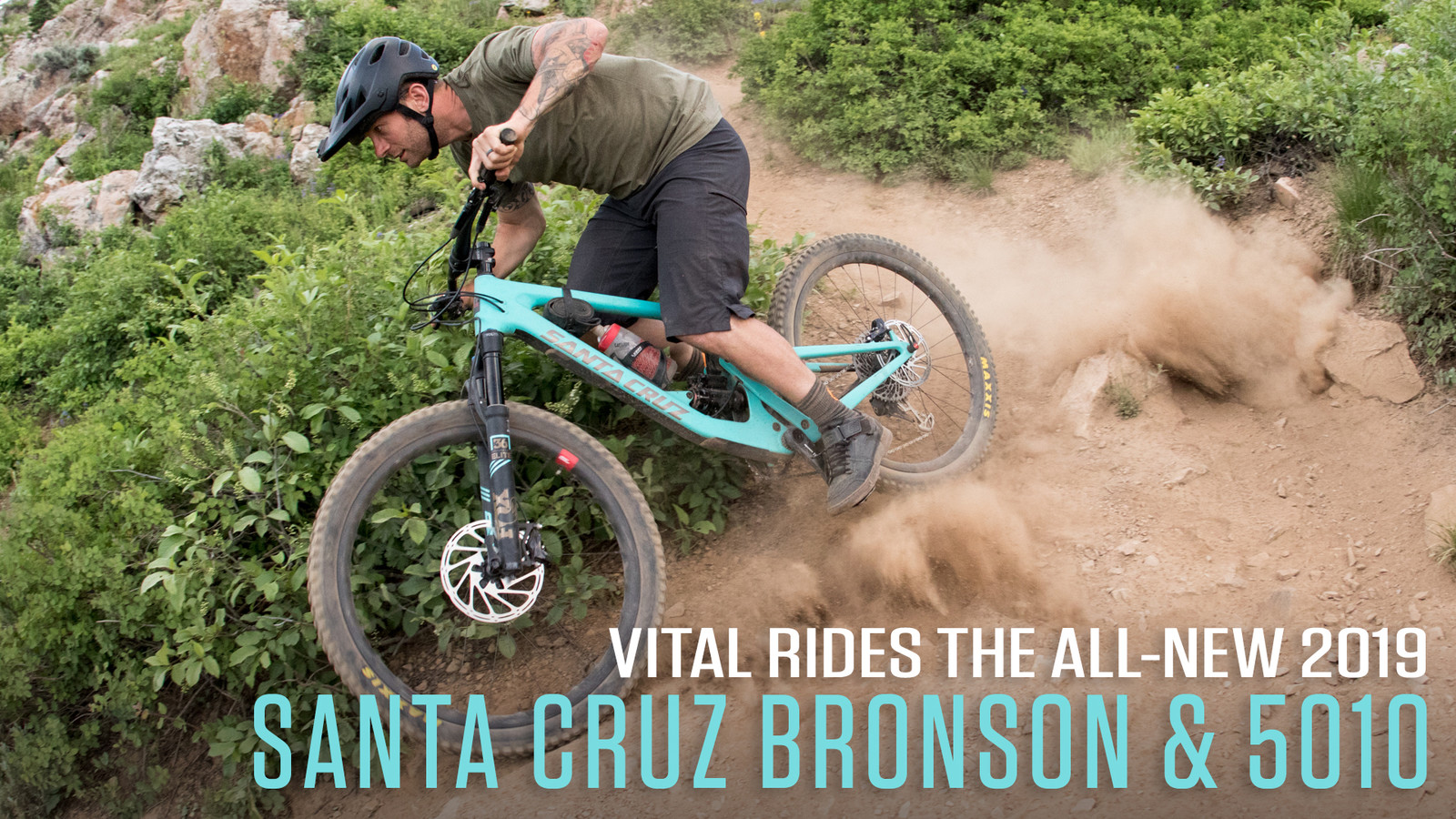 Vital Rides the All-New 2019 Santa Cruz Bronson and 5010