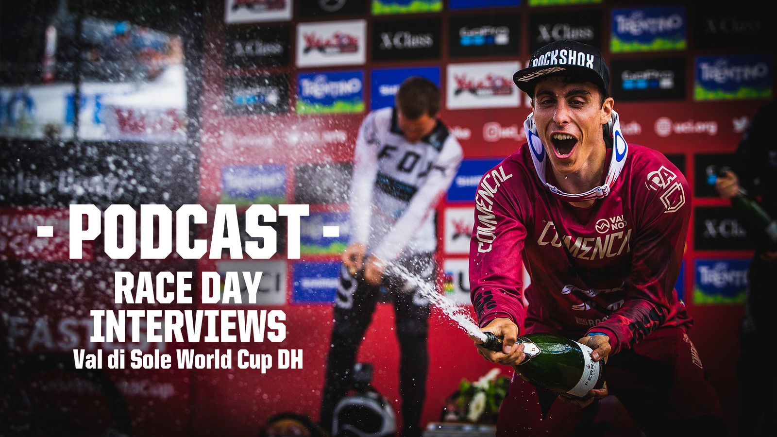 PODCAST - Val di Sole World Cup Downhill Racer Interviews