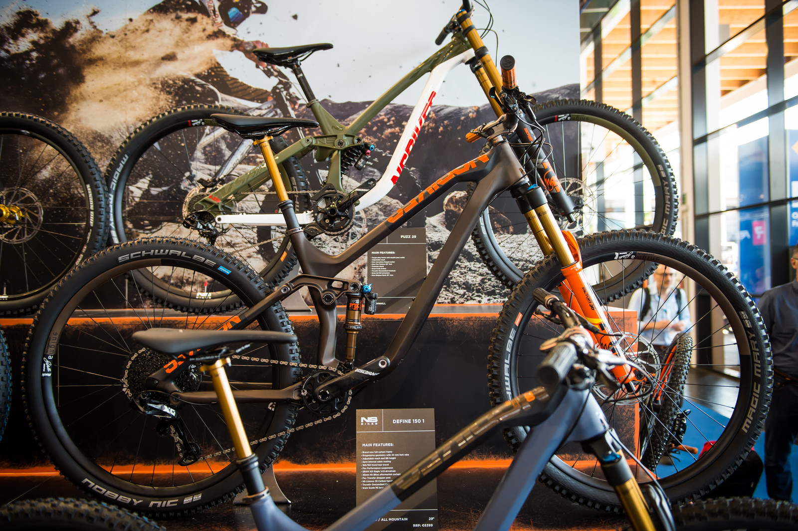 NS Bikes Define 150, Define 130 and Nerd Lite at Eurobike