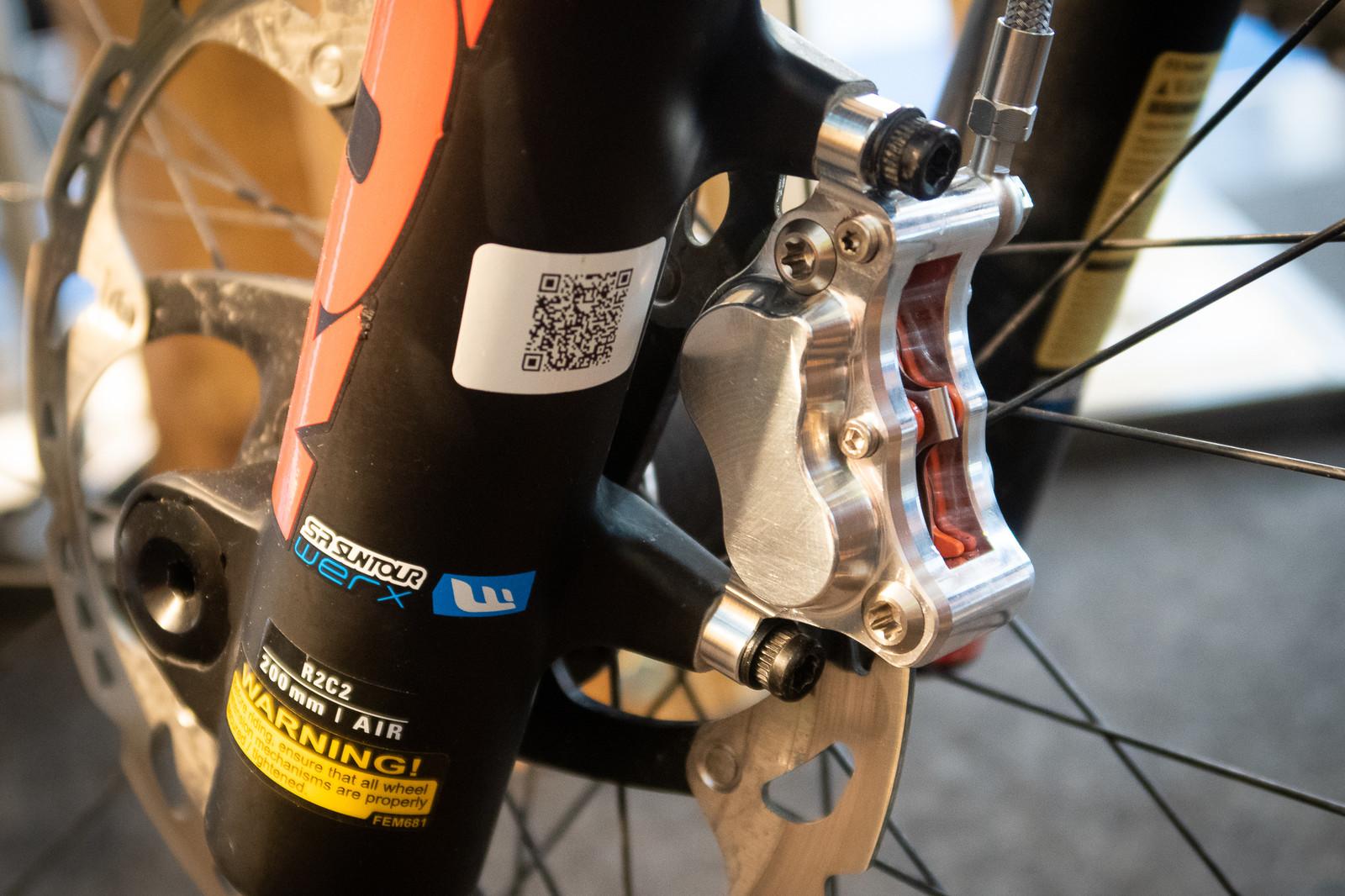 Trickstuff's New Direttissima Brakes at Eurobike