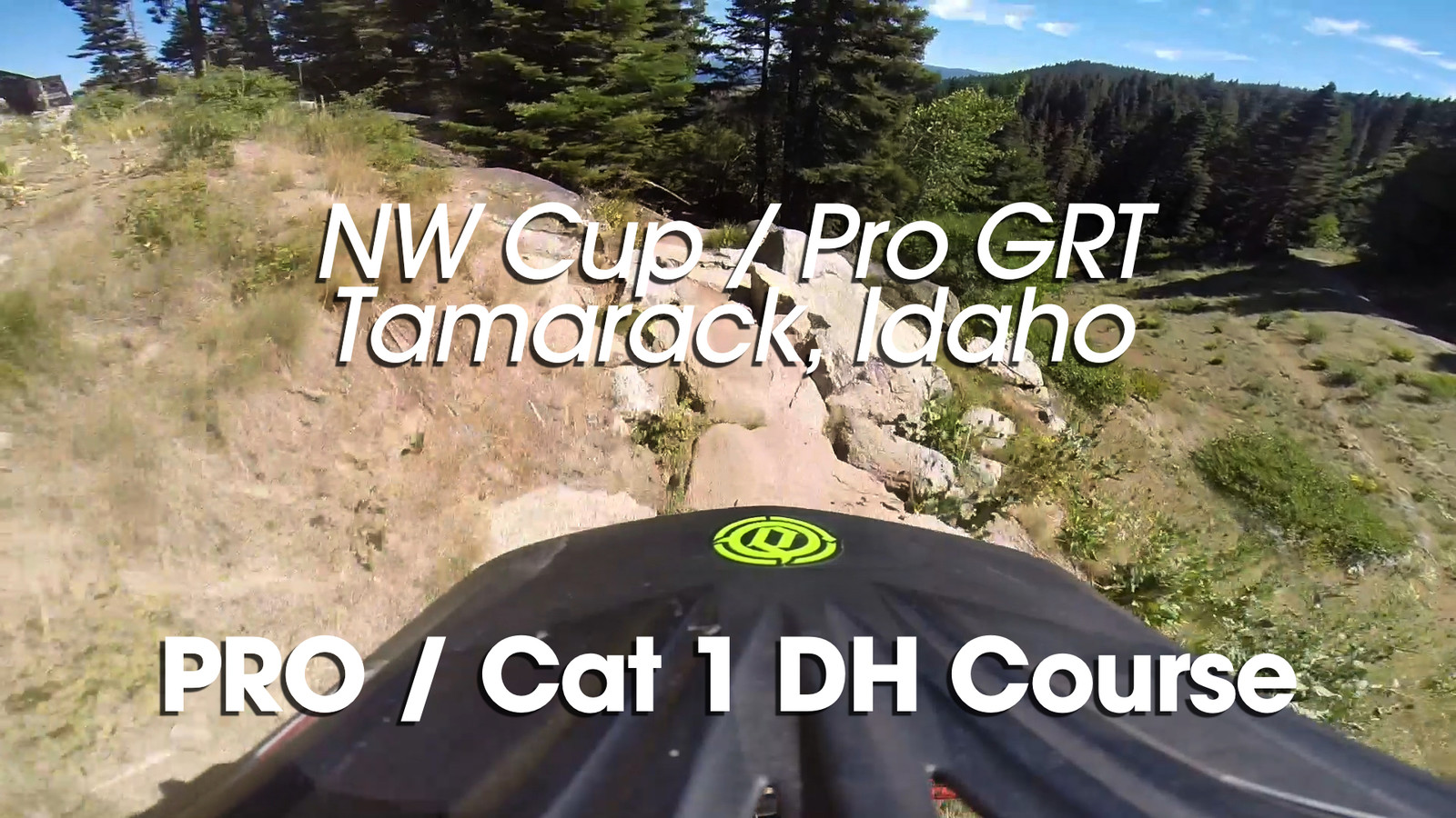 NW Cup / Pro GRT DH Course Previews with Griz