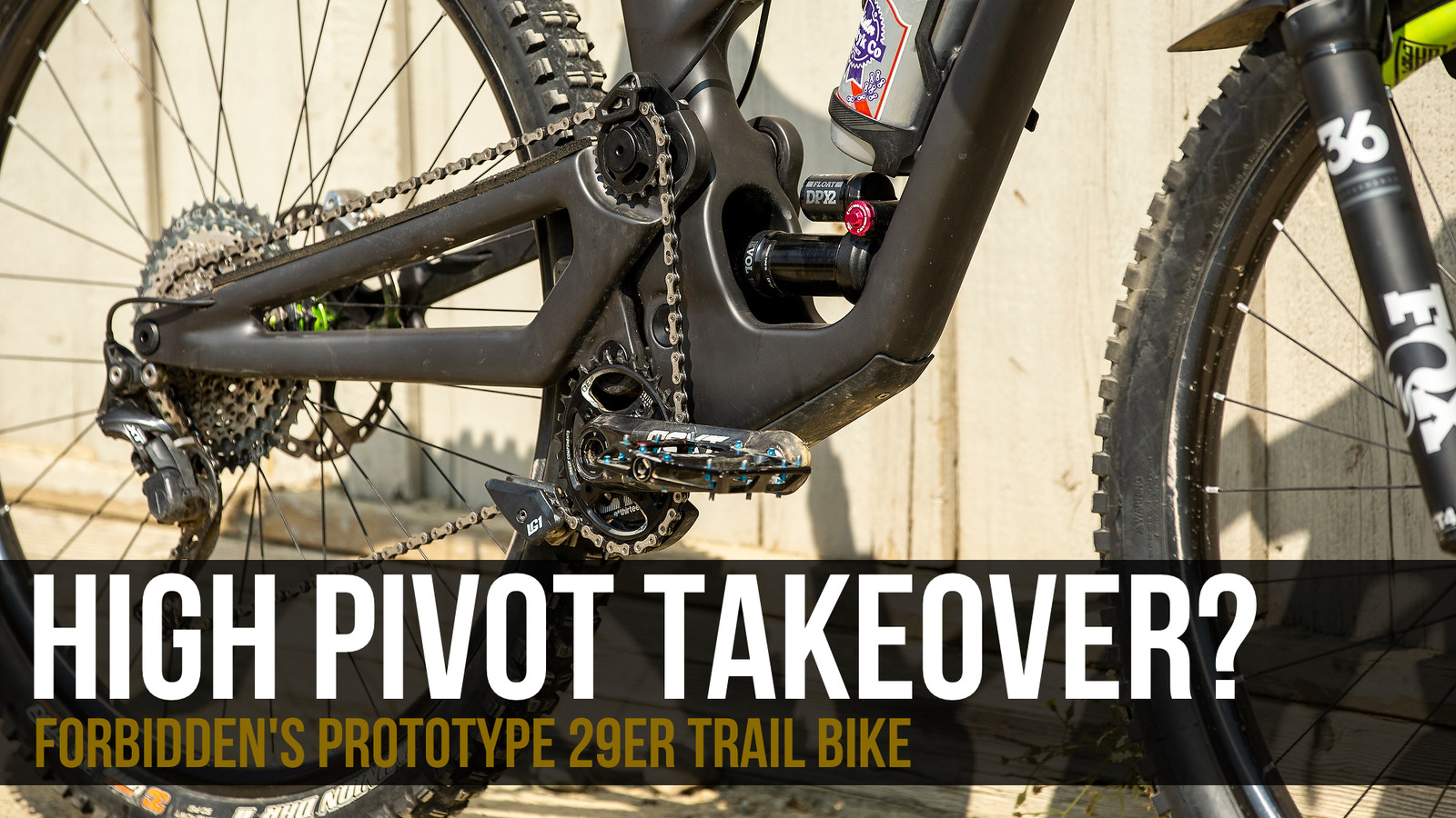 High Pivot Takeover? Forbidden Bike Co's Prototype Trail MTB