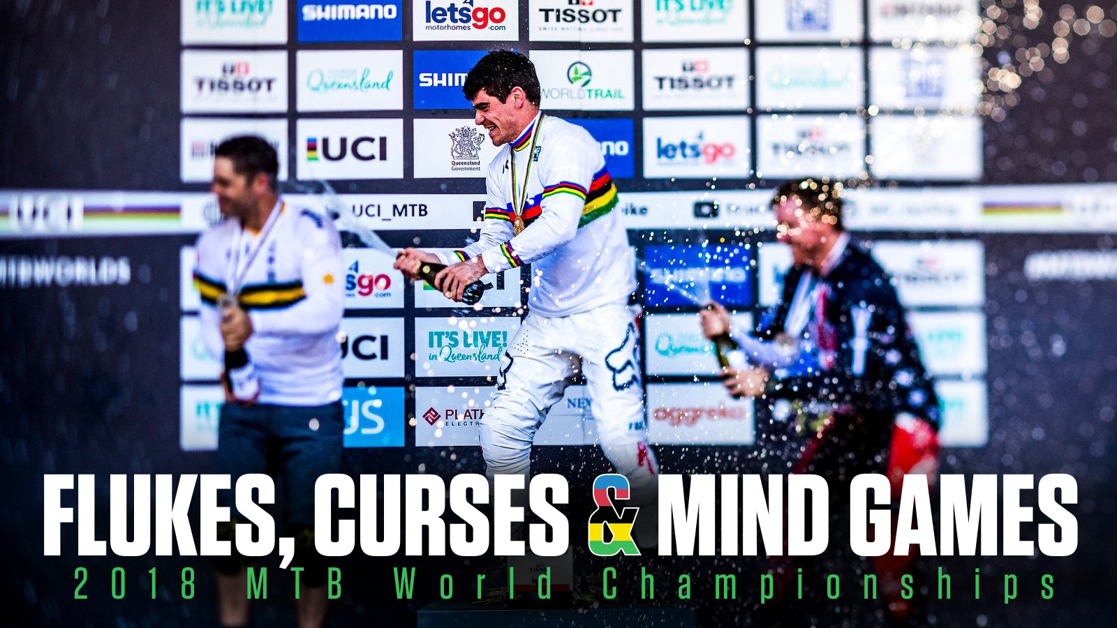 FLUKES, CURSES AND MIND GAMES | 2018 MTB World Championships, Lenzerheide