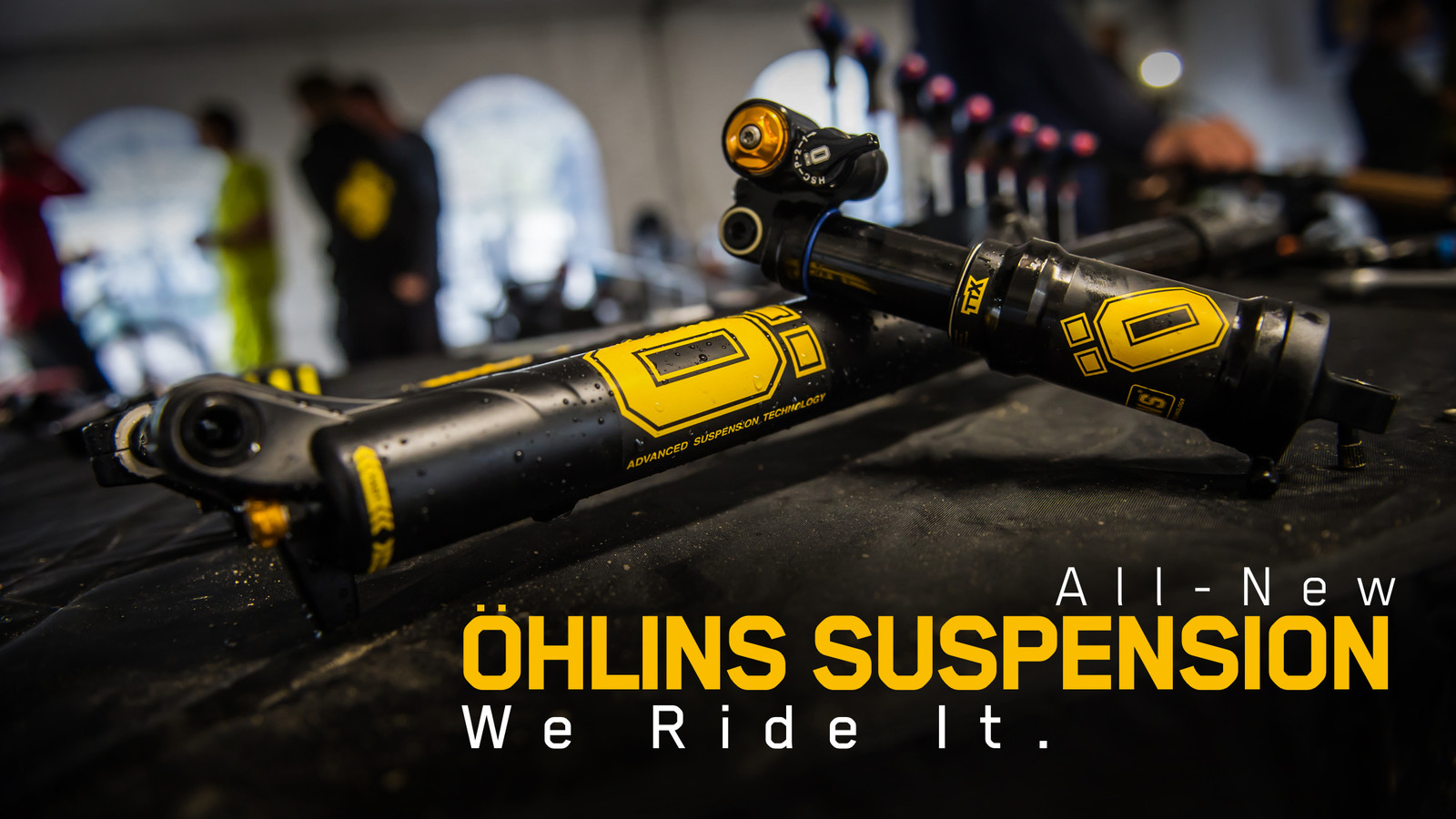 Vital Rides the All-New Öhlins RXF36 Fork and TTX Air Shock
