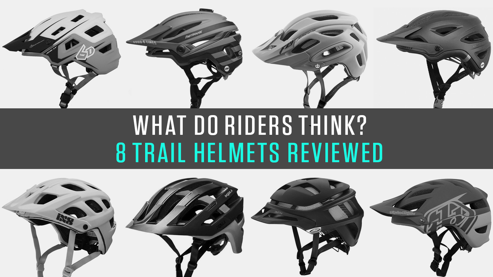 What Do Riders Think? Eight Half-Shell Helmets Reviewed by Vital MTB Members