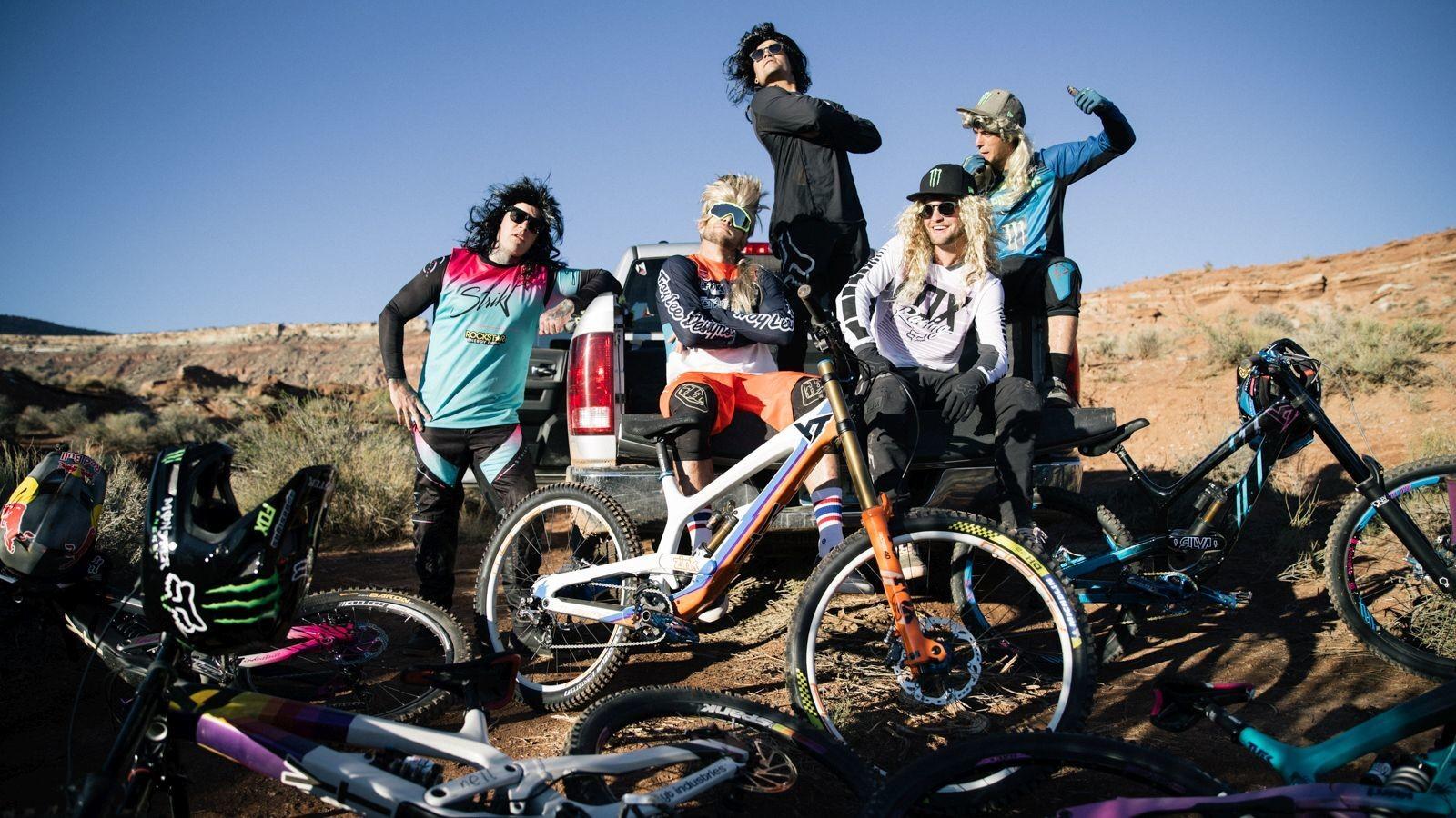 YT Industries Rampage 2018 Bike Checks