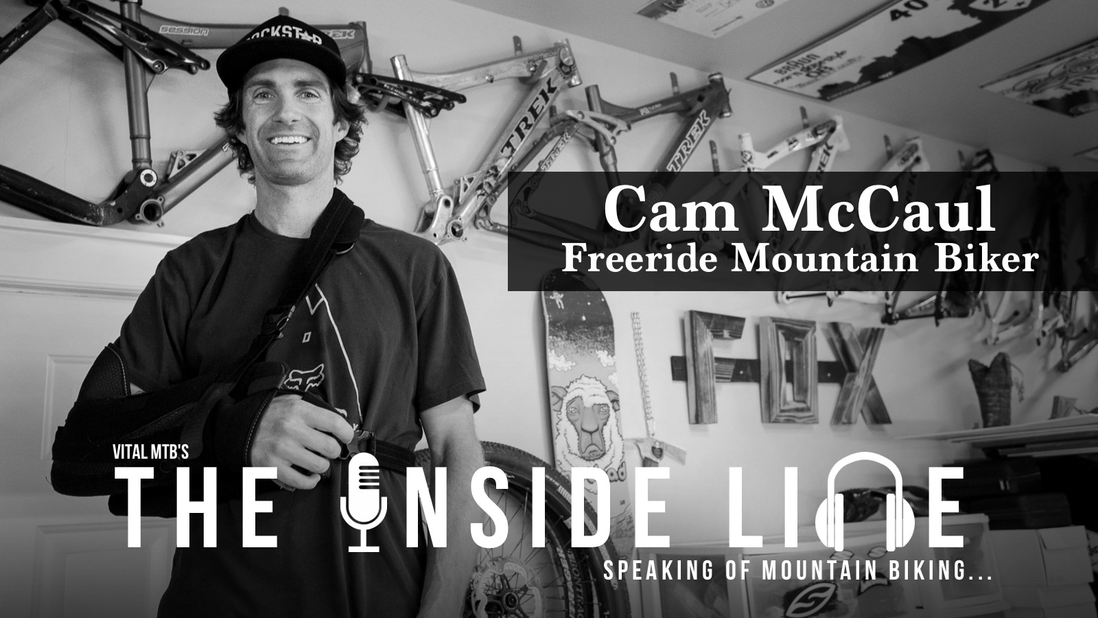 The Inside Line Podcast - Cam McCaul, Freeride Mountain Biker