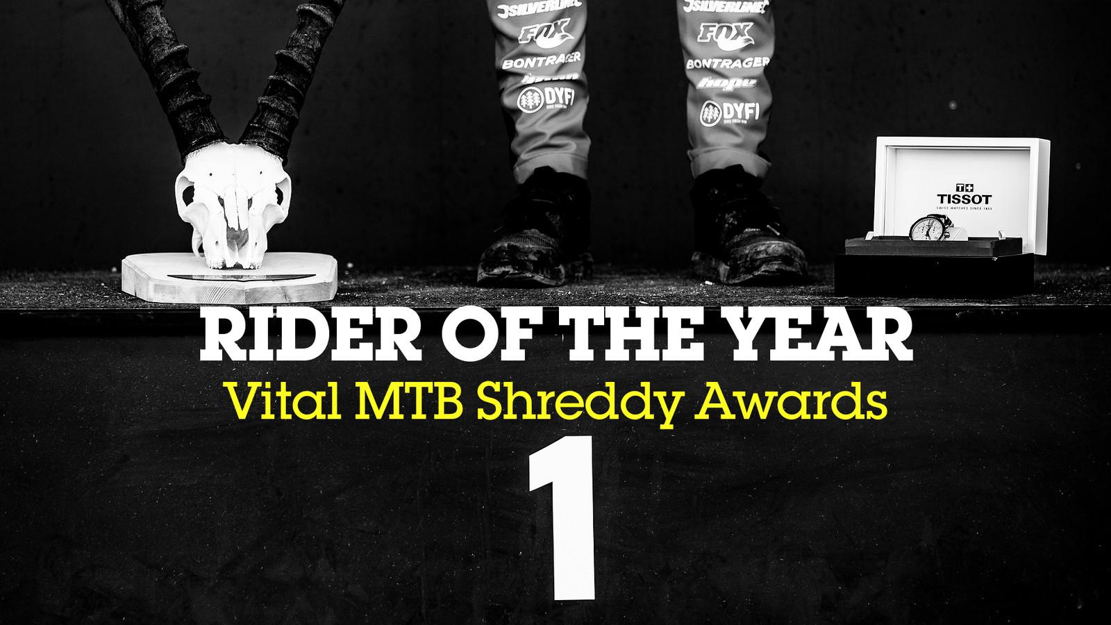 Rider of the Year - Shreddy Awards