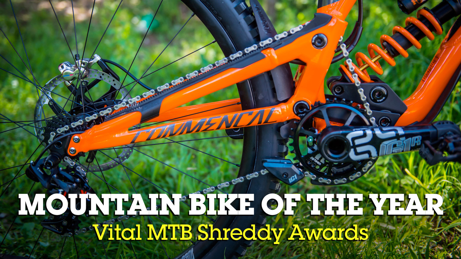 Mountain Bike of the Year - Shreddy Awards