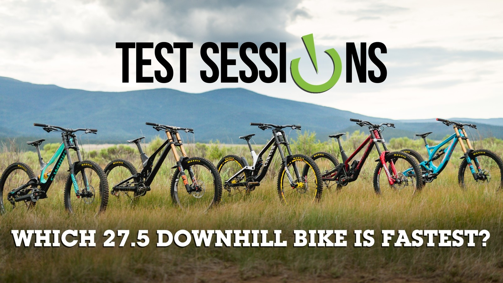 Vital MTB Test Sessions: Five of the Best 27.5 Downhill Bikes Raced and Reviewed