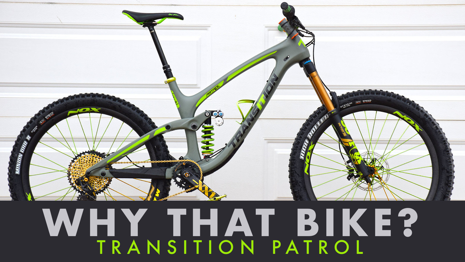 Why That Bike? | Transition Patrol