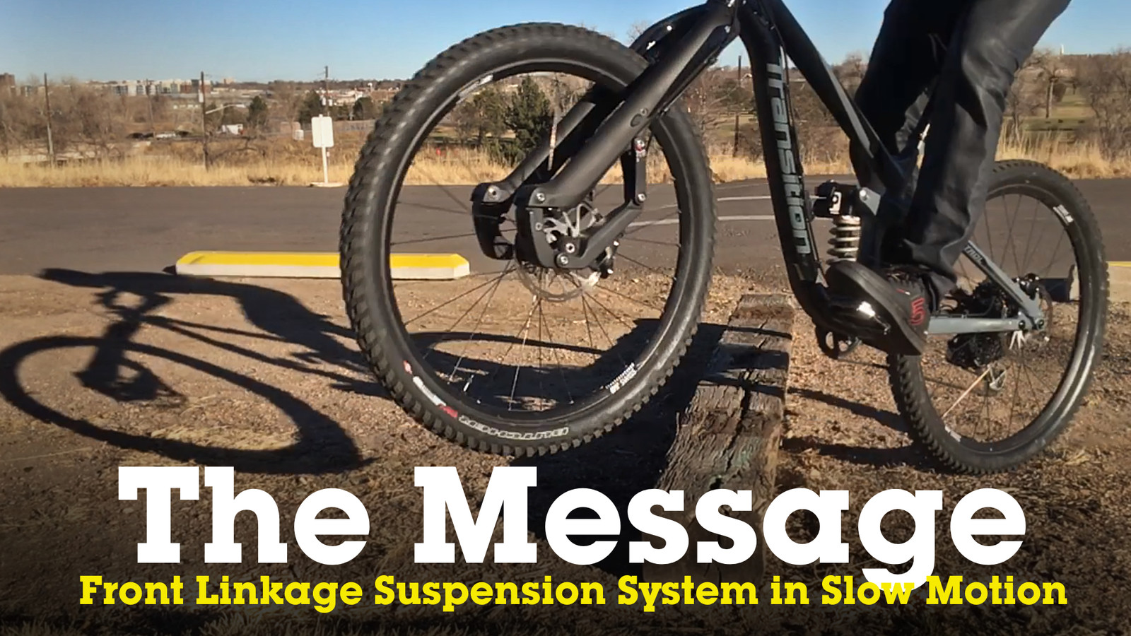 Slow Motion Action of The Message Front Linkage Suspension System