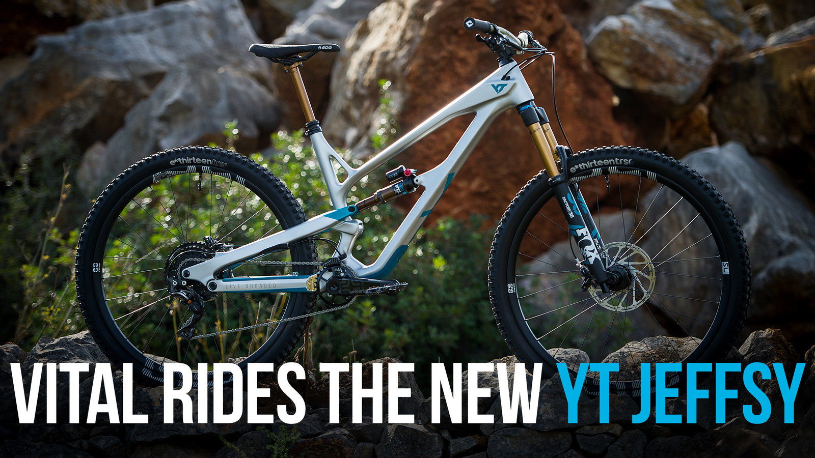 Vital Rides the All-New YT Jeffsy 29